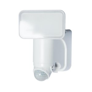 Heath Zenith 180 Degree Of Motion 1-Head White Solar Powered LED Motion-Activated Flood Light