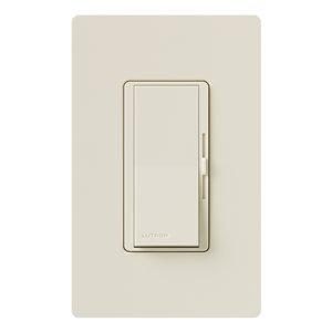 Lutron Diva 150W CFL/LED Dimmer Light Almond