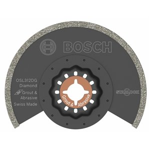 Bosch 3 1/2-in Starlock Diamond-Grit Grout Blade