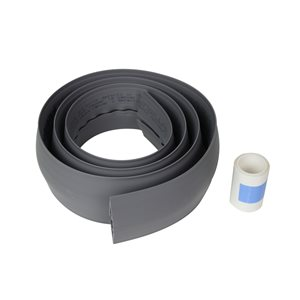 Legrand 2-1/2-in x 60-in Low-Voltage Gray Cord Cover
