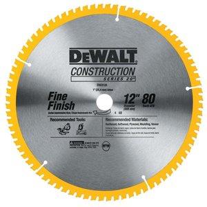 Dewalt Construction 12 In 80 Tooth Segmented Carbide Circular Saw Blade Lowe S Canada