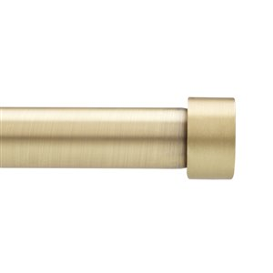 Umbra 66-in to 120-in Brass Curtain Rod Set