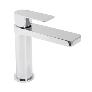 Jamie.J Cosmopolitan Chrome 1-Handle Single Hole Bathroom Sink Faucet