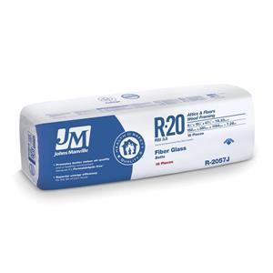 Johns Manville R-20 Fiberglass Batt Insulation (15-in x 47-in)