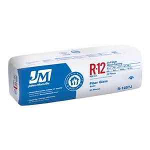 Johns Manville R-12 Fiberglass Batt Insulation (15-in x 47-in)