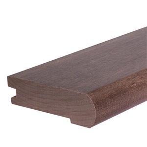 FLEXCO 0.5-in x 78.0-in Pre-finished Prefinished Oak Wood Stair Nosing