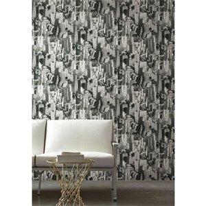 RoomMates New York City Peel-and-Stick Wallpaper   Lowe's ...