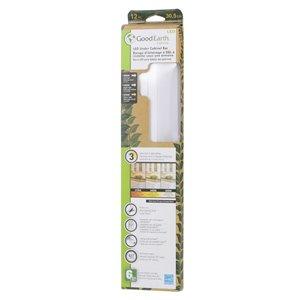 Good Earth Lighting Premium Slim LED Color Changing 12.0-in Hardwired Under cabinet LED light bar