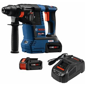 Bosch CORE18V 18-Volt 1-in SDS-Plus Cordless Rotary Hammer (2-Batteries and Charge Included)