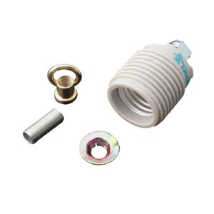Portfolio 250-Watt White Lamp Socket