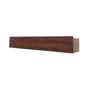 allen + roth 24-in W x 4.5-in H x 3.88-in D Wall Mounted Rustic Block Ledge Shelf