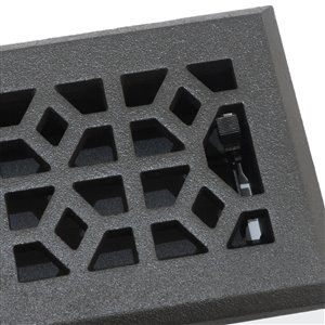 Accord Select 3 In X 10 In Pewter Cast Iron Marquis Floor