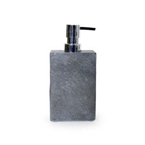 Moda at Home Yukon Grey Soap/Lotion Dispenser