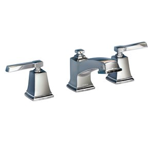 Moen Boardwalk Chrome 2-Handle Widespread WaterSense Bathroom Sink Faucet with Drain (Valve Included)