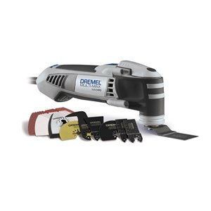 Dremel 3.8-Amp-Volt Multi-Max 36-Piece Corded Oscillating Tool Kit (MM40-06)