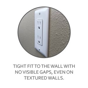 Legrand Trademaster 1-Gang Toggle Wall Plate (White) (10 Pack)