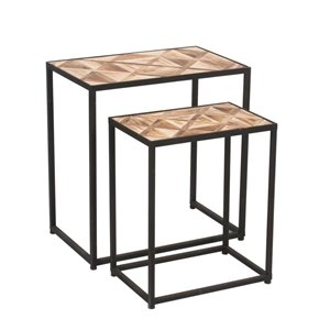 Ema Rectangle Nesting Table Set of 2