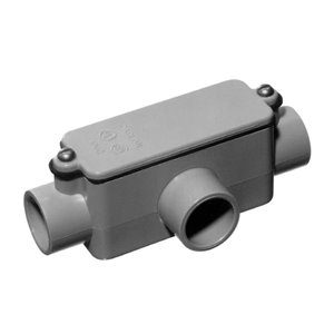 CARLON 3/4-in Pull Hub Schedule 40 PVC Compatible Schedule 80 PVC Compatible Conduit Fitting