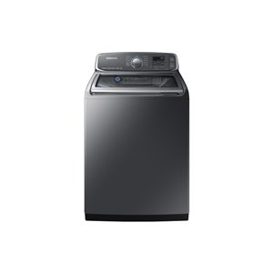 Samsung 6.0-Cu Ft High-Efficiency Top-Load Steam Washer (Platinum) ENERGY STAR