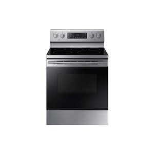 Samsung 30-in 5.9 cu ft Electric Range with Self-cleaning Convection Oven (Stainless Steel)