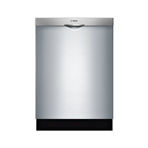 Bosch 44.0-Decibel Built-in Dishwasher (Stainless Steel) Common: 24 -in; Actual: 23.5625-in) ENERGY STAR