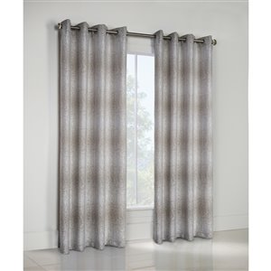 Thermalogic Optic Lined Grommet Window Curtain 52 x 95, Colour Taupe