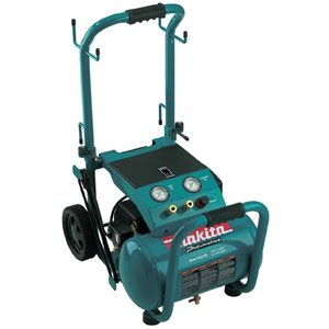 Makita 5.2-Gallon Single Stage Portable Electric Horizontal Air Compressor (1-Tool)