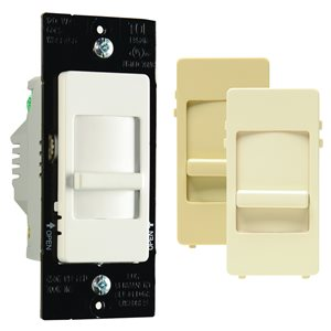 Legrand 450-Watt Single Pole 3-Way White Indoor Slide Dimmer