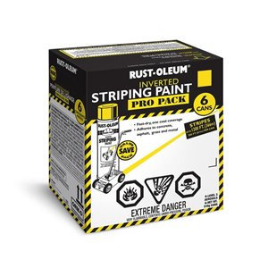 Rust-Oleum 510g Inverted Striping Spray Paint (6-Pack)
