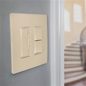 Legrand Radiant Light Almond Remote Control Outlet