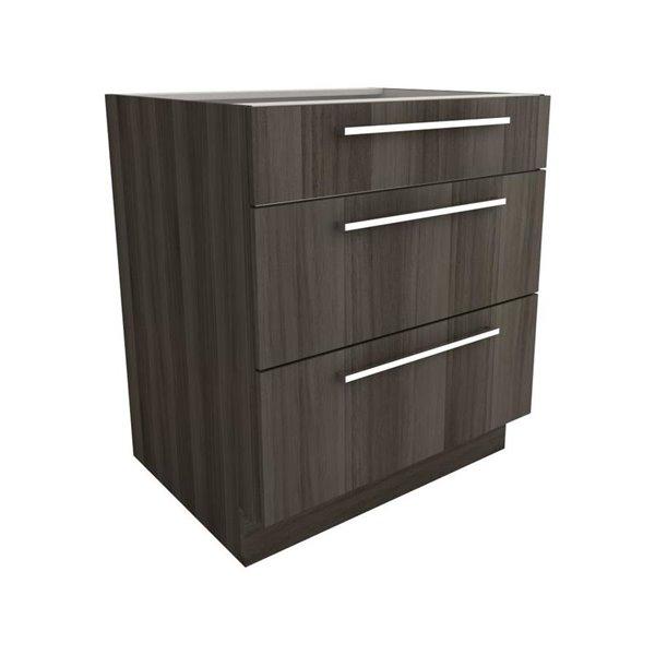 Strange Cutler Zambukka 30 In X 34 In 3 Drawer Base Cabinet Download Free Architecture Designs Embacsunscenecom