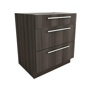 Cutler Zambukka 30-in x 34-in 3-Drawer Base Cabinet