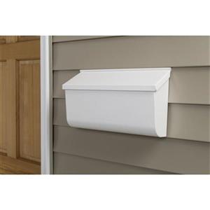 Extra Large Galvanized Steel Wall Mount Mailbox