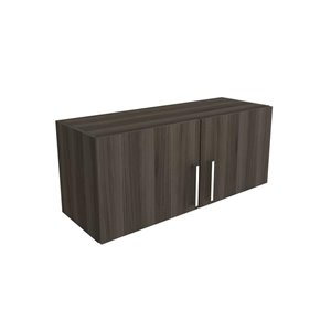 Cutler Zambukka 36-in x 15-in 2-Door Horizontal Wall Cabinet