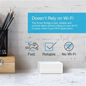 Lutron Caseta Wireless Dimmer Kit with Smart Bridge