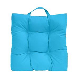 20-in Aqua Polyester Adirondack Chair Cushion