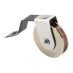 Prime-Line Steel Wheel Spring Tension Rollers (2-Pack)