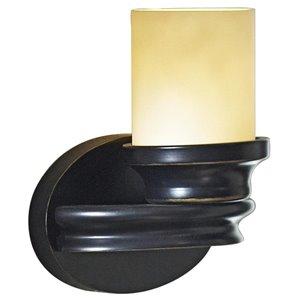 allen + roth 1-Light Bronze Arm Sconce