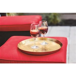9-in Clear Shatterproof Wine Glass