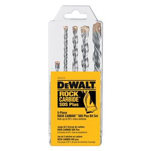 DEWALT SDS-Plus Hammer Drill Bit Set