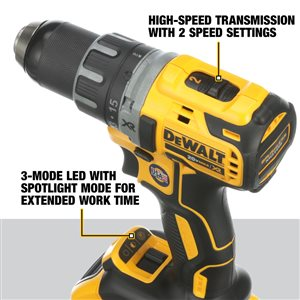 DEWALT 20-Volt MAX XR Lithium-Ion Brushless Cordless Compact Drill/Driver Kit