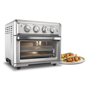 Cuisinart 0-Slice Stainless Steel Convection Toaster Oven with Auto Shut-Off
