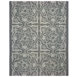 allen + roth Grey (Common:; Actual: 7.75-ft W x 9.92-ft L x 8-ft dia)