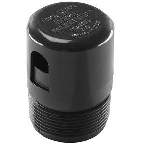 1-1/2-in Dia. Black Plastic Mechanical Plumbing Vent