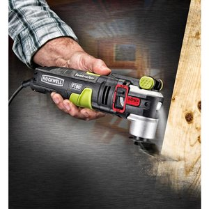ROCKWELL F80 4.2-Amp Multi-Tool Duotech Oscillating Corded Tool Kit