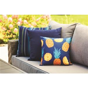Sunbrella Navy Canvas Cushion