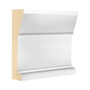 2-in x 6-in x 8-ft Architrave MDF Board