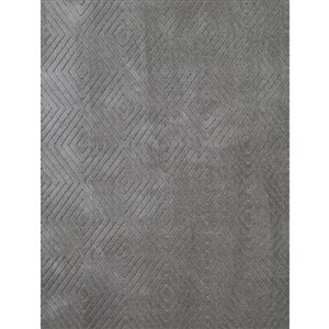 Cam of America Grey (Common:; Actual: 5.167-ft W x 7.5-ft L)