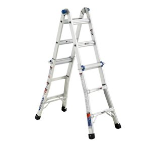 Werner 13-ft Type 1A - 300 lbs. Capacity Aluminum Multi-Position Ladder