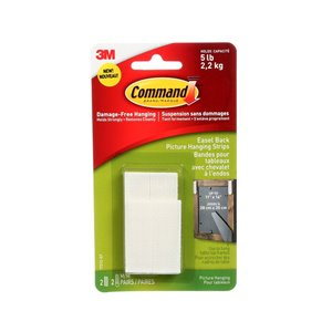 3M Command Easel Back Picture Hanging Strips, 17212-EF